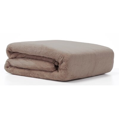 Polartec� Outdoor Adventure Fleece Throw Color: Cobblestone