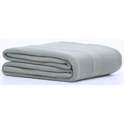 Polartec� Fleece Throw Color: Dark Sage