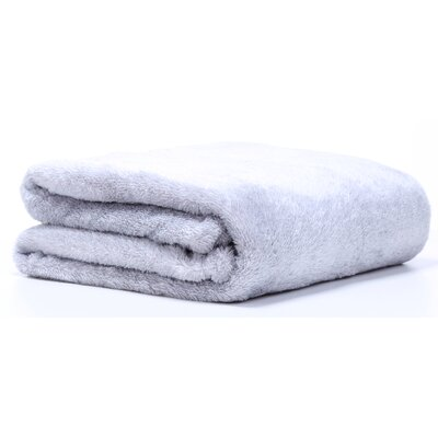 Polartec� Heathered Shearling Fleece Throw Color: Chateau Gray