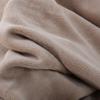 Oversized Serasoft Blanket Size: King, Color: Linen