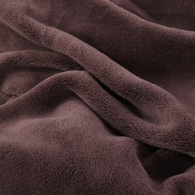 Oversized Serasoft Blanket Size: Queen, Color: Chocolate