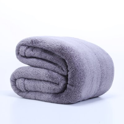 Cheap Fluffy Bed Blanket Size Queen Color Smoke for sale