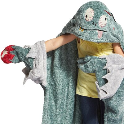Cuddly Buddies Mini Monster Throw