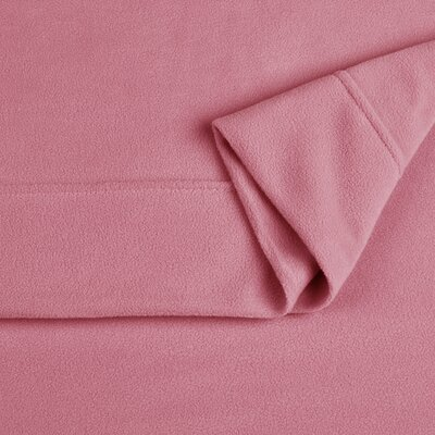 Microfleece Twin XL Sheet Set Color: Dusty Pink