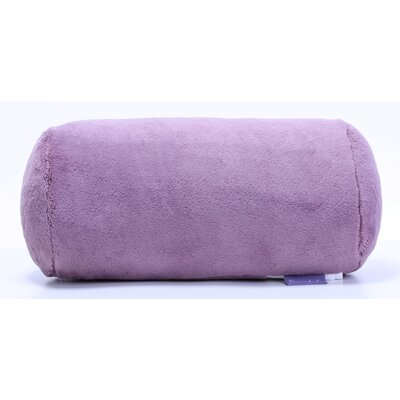 PrimaLush Log Bolster Pillow Color: Plum Smoke