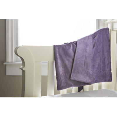 Soft and Snug Baby Blanket Color: Smokey Purple