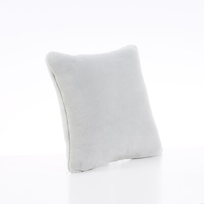 Plush Throw Pillow Color: Sage