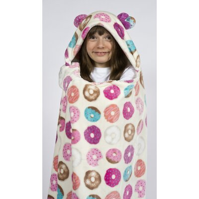 Donut Cuddly Buddies� Throw