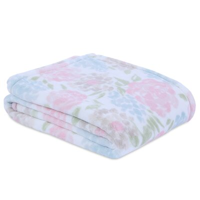 Berkshire Blooming Rose PrimaLush Throw