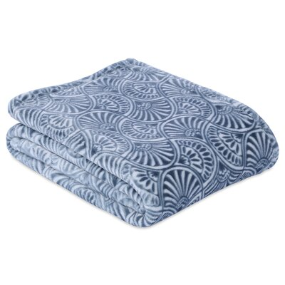 Regal Fan Throw Color: Mineral