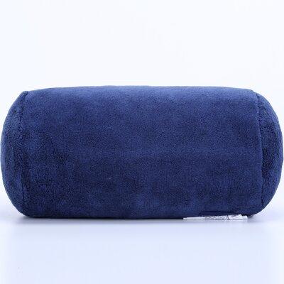Short Serasoft� Bolster Pillow Color: Navy