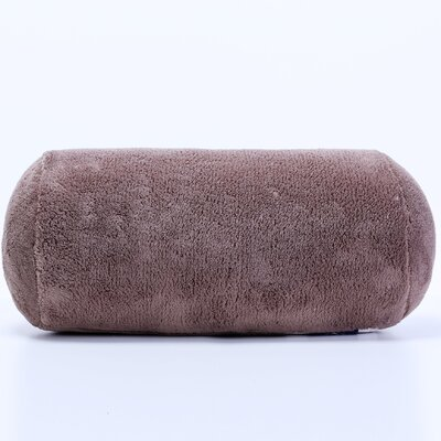 Short Serasoft� Bolster Pillow Color: Mocha Latte