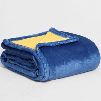 VelvetLoft� Dual-Color Reversible Throw Color: Night Sky