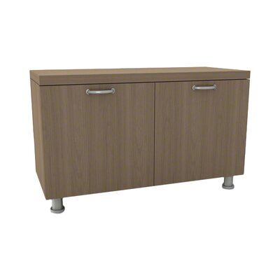 Currency Storage Cabinet Laminate Color: Chocolate Walnut, Pull Style: Ledge Pull - Platinum (4799) Product Photo 172