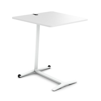 Campfire Skate End Table Finish: Arctic White, Laminate Finish: Arctic White