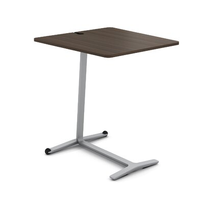Campfire Skate End Table Finish: Platinum Metallic, Laminate Finish: Blackwood