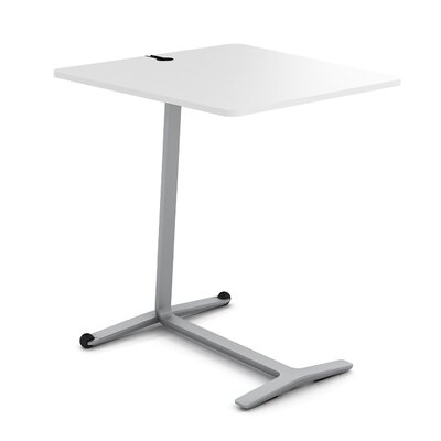 Campfire Skate End Table Finish: Platinum Metallic, Laminate Finish: Arctic White