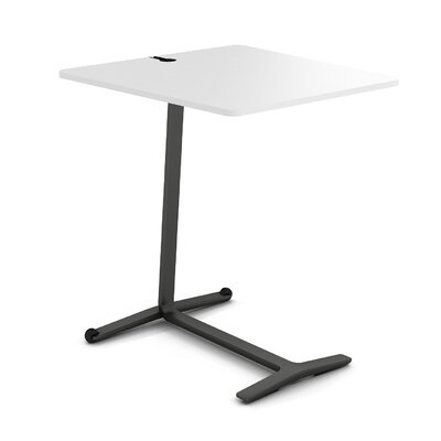 Campfire Skate End Table Finish: Midnight Metallic, Laminate Finish: Arctic White
