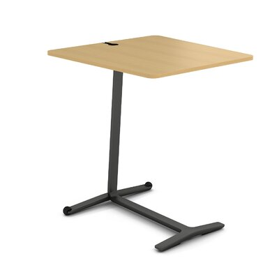 Campfire Skate End Table Finish: Midnight Metallic, Laminate Finish: Warm Oak