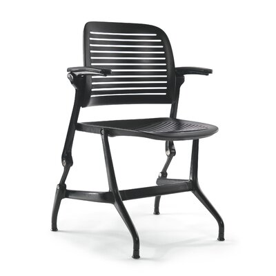 Steelcase Cachet Work Chair with Arms - Fabric Options: No Fabric, Fabric Color: No Fabric Color, Glides: Hard Floor Glides at Sears.com