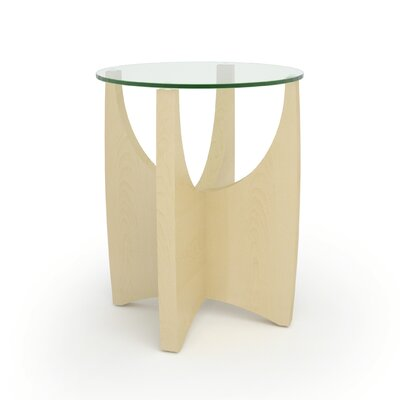 Alight� End Table by Turnstone Finish: Clear Maple