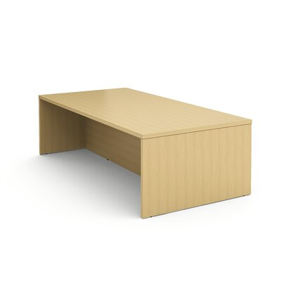 Campfire Rectangular Conference Table Laminate Color: Warm Oak, Size: 40 H x 96 W x 48 D