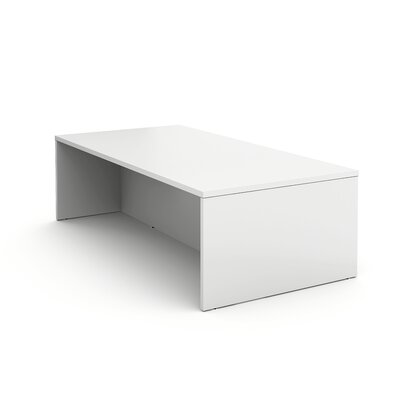 Campfire Rectangular Conference Table Finish: Arctic White, Size: 40 H x 96 W x 48 D