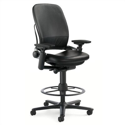 High Back Leather Drafting Chair Leap Product Picture 1270