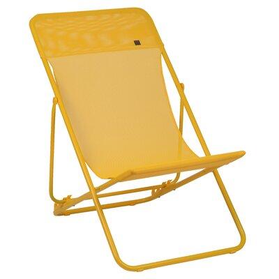 Lafuma Maxi Transat Lounge Chair (Set of 2) - Finish: Yellow, Fabric: Banana at Sears.com