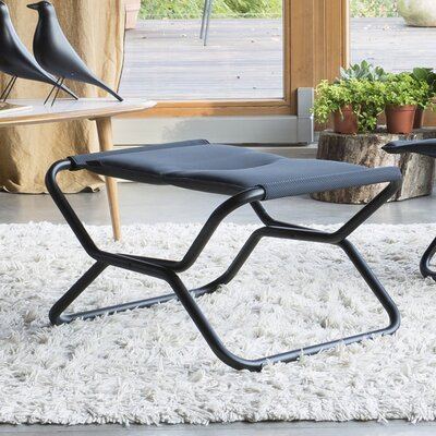 Next Air Comfort Folding Footrest Stool Fabric: Acier