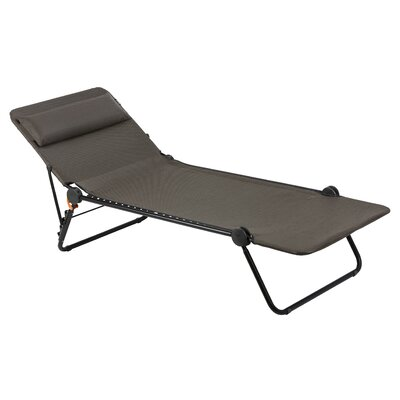 Sunside Chaise Lounge Seat Color: Wood