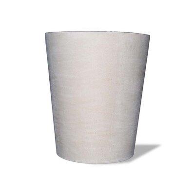 Amedeo Design Tall Cylinder Vase Resin Stone Pot Planter