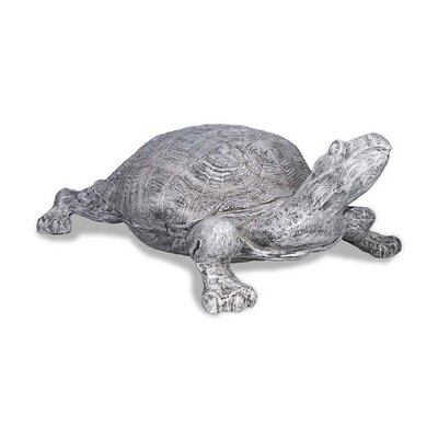 ResinStone Turtle Statue Color: Lead Gray 1400-11G
