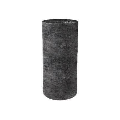 Amedeo Design ResinStone Modular Cylinder Planter - Finish: Charcoal, Size: 36