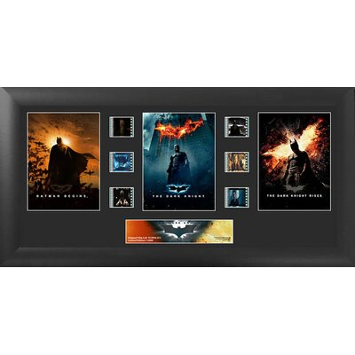 Batman The Dark Knight FilmCell Trilogy FramedVintage Advertisement USFC5956