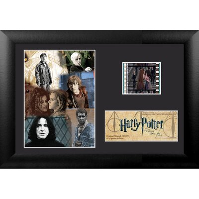 Harry Potter 7 Part 2 Mini FilmCell Presentation Framed Vintage Advertisement USFC5599