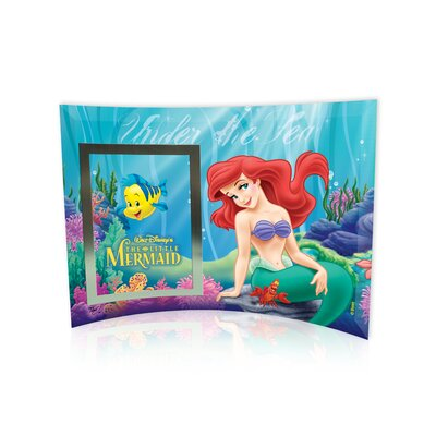 Trend Setters Little Mermaid (Under the Sea) Curved Glass Print with Photo Frame at Sears.com