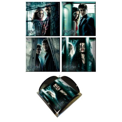 Harry Potter 7 Glass Print Coaster SPCSTR049
