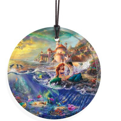 Trend Setters Thomas Kinkade (The Little Mermaid) StarFire Prints Hanging Glass at Sears.com
