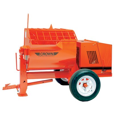 12S-E5/3 - 12 cu ft Heavy-Duty Mortar Mixer w/ 5 HP 3 Phase Electric