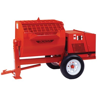 S16SH-E7/3 - 16 cu ft Heavy-Duty Mortar Mixer w/ 7.5 HP 3 Phase Electric