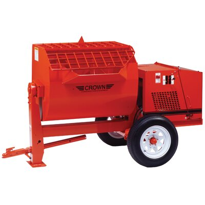 S16SH-DY10 - 16 cu ft Heavy-Duty Mortar Mixer w/ 10 HP Yanmar Diesel