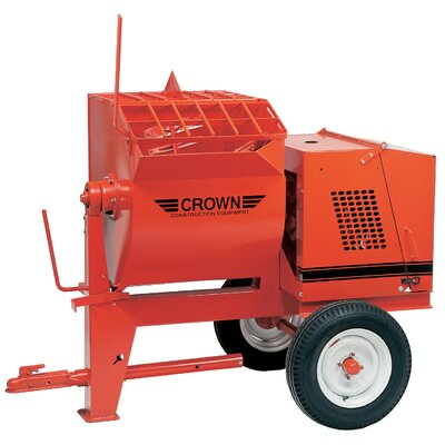 8S-GR9 - 8 cu ft Mortar Mixer - 9 HP Robin w/ Options