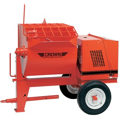 10S-E2 - 10 cu ft Mortar Mixer - 2 HP Electric w/ Options