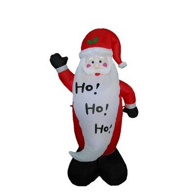 Big Beard Santa Claus Christmas Decoration