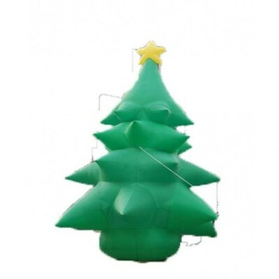 20' Christmas Inflatable Huge Tree with Star Topper
