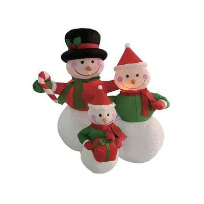 BZB Goods Christmas in-flatable Snowmen Family Decoration at Sears.com