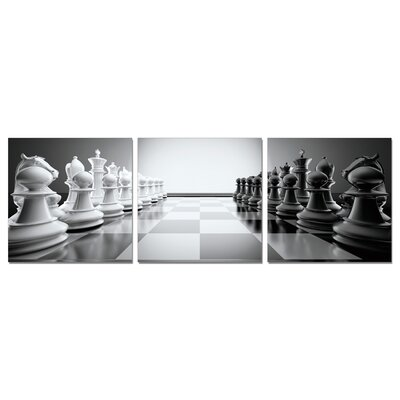 Make Your Move Modern 3 Piece Photographic Print Set