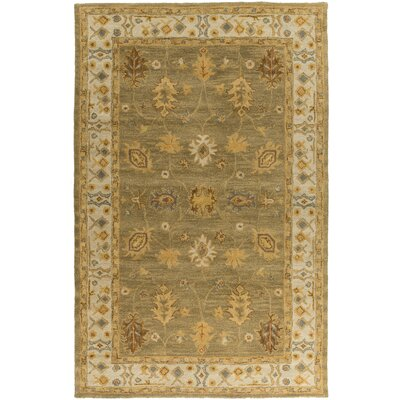 Middleton Green Willow Area Rug Rug Size: 5 x 8