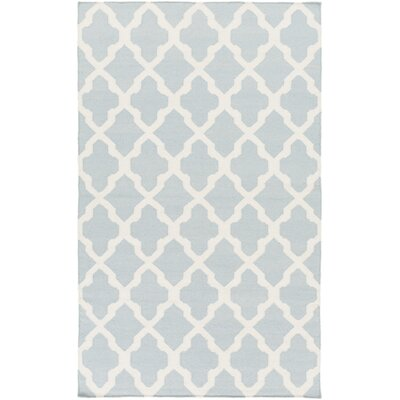 Bangor Blue Geometric Area Rug Rug Size: Rectangle 3' x 5'